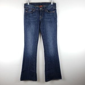 Lucky Brand Zoe Bookcut Mid Rise Jeans Size 6